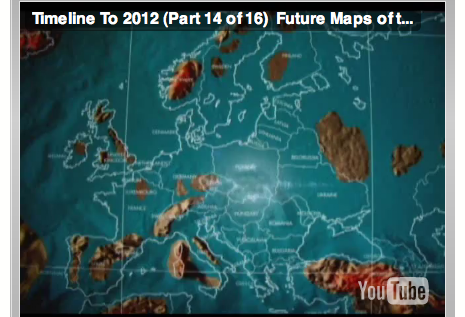 POSSIBLE FUTURE MAP OF EUROPE AFTER EARTH CHANGES Red Shaman - Map of us after pole shift