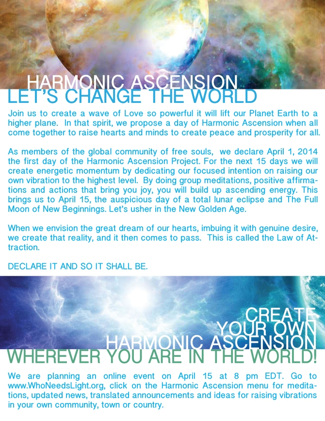 Harmonic Ascenstion Project