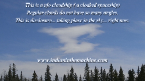 UFO Cloudships Are Proof of ET Presence (Disclosure In The Sky Happening Right Now)! (Pics)